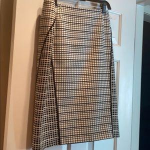 Lafayette 148 Black/White Skirt
